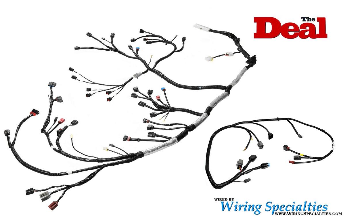 Wiring Specialties VG30DE(TT) Wiring Harness Combo
