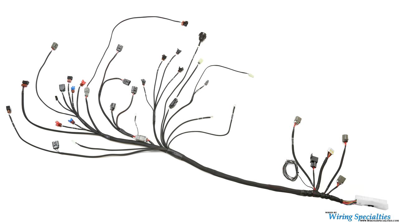 hight resolution of universal standalone ca18det wiring harness pro series