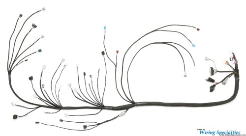 small resolution of universal standalone wiring harness for a 2jzgte vvti swap pro series