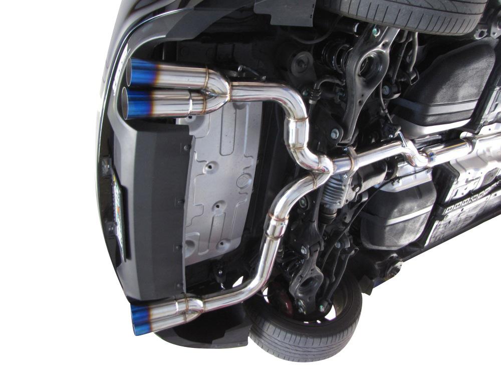 isr performance race exhaust hyundai genesis coupe 3 8 v6 09