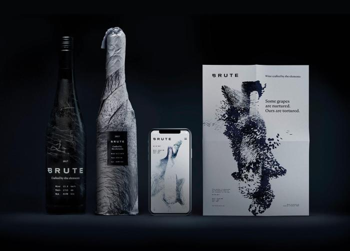 Branding for Brute wine