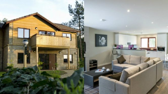 All The Lodges And Apartments Have Now Been Complete At New Center Parcs In Longford