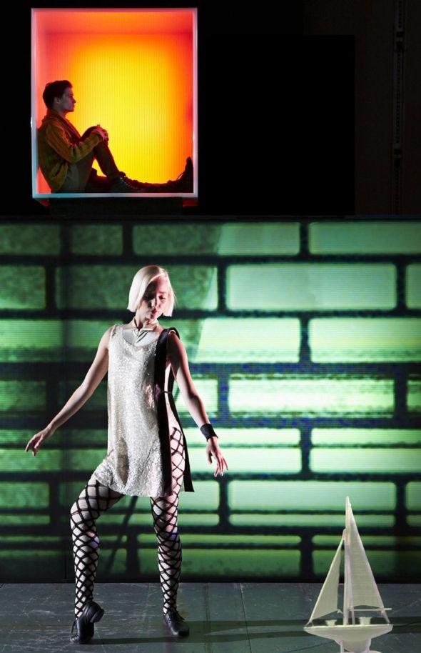 Image Claudi Thyrrestrup Singer Jonathan Johansson Dancer Agnete Beierholm