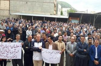 Lärare i samordnad protestaktion över hela Iran
