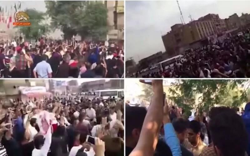 تظاهرات مردم اهواز