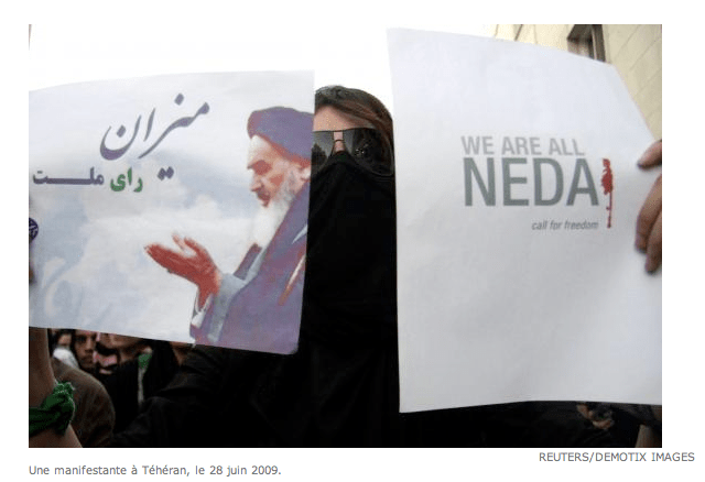 Green movement supports Khomenei