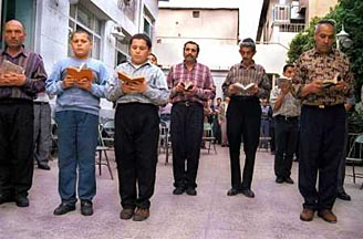 Jewish School in Shiraz, Iran (photo courtesy of www.iranian.com). Read below to learn about the strong and proud Iranian Jewish community.