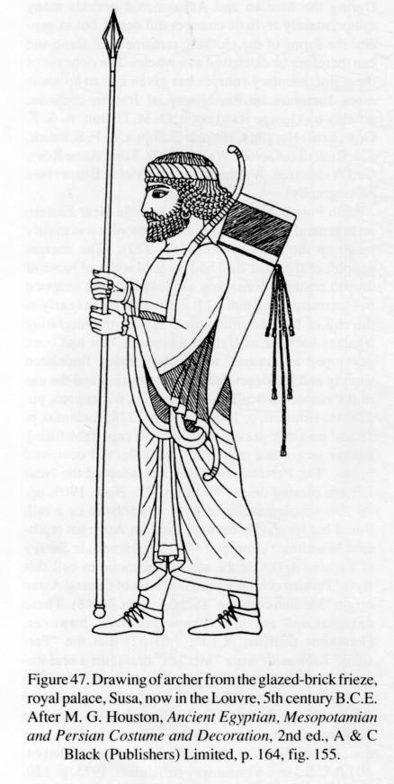 CLOTHING ii Median and Achaemenid periods  Encyclopaedia
