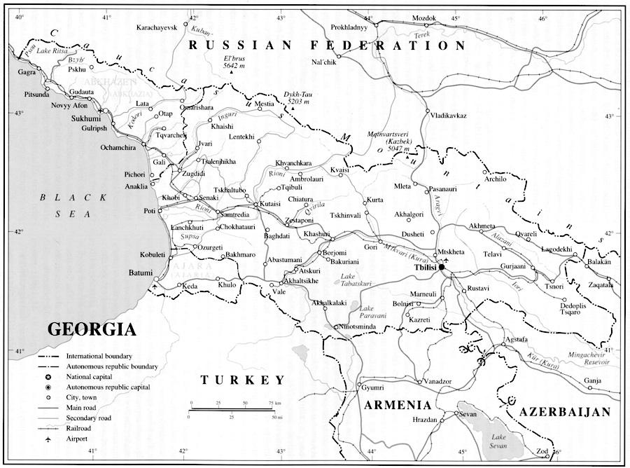 GEORGIA i. The land and the people
