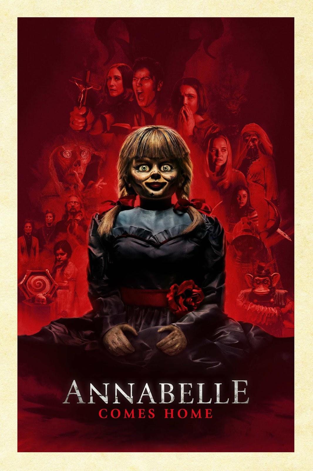 مشاهدة وتحميل فيلم Annabelle Comes Home