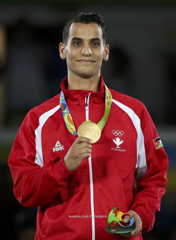 أحمد أبوغوش بعد حسم الميدالية الذهبية