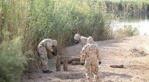 مخطط لتفجير معسكر التاجي شمالي بغداد تم احباطه