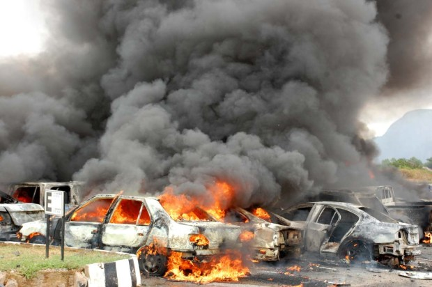 استشهاد واصابة سبعة اشخاص بتفجير شمال شرقي بغداد