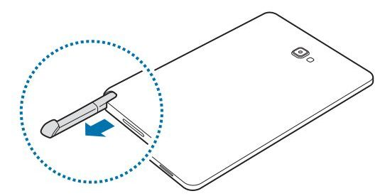 حاسوب لوحي بقلم من سامسونج قريبا Samsung SM-P580