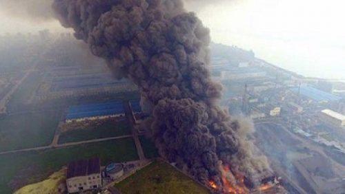 مصرع 21 شخصا بانفجار في محطة كهربائية بالصين