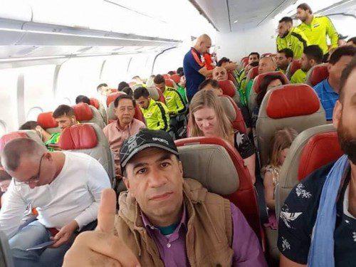 بعثة المنتخب العراقي تغادر أستراليا وتتجه الى ماليزيا للقاء السعودية