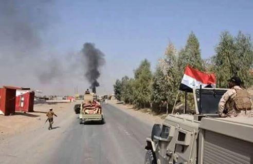اقتحام مطار الموصل