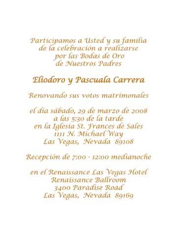 Wedding Invitations In Spanish Wording Samples Invitation Couple