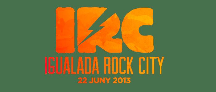 Igualada Rock City Logo