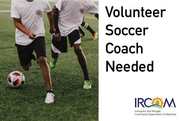 Volunteer Soccer Coach Needed