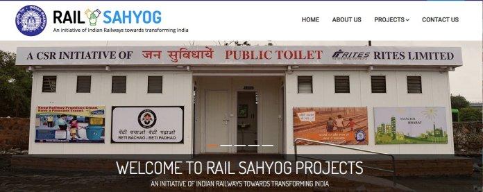 Rail Sahyog Web Portal