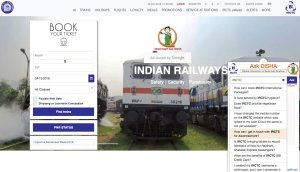 Ask DISHA by IRCTC Details
