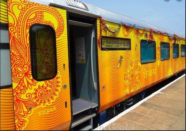Ahmedabad-Mumbai-Ahmedabad Tejas Express