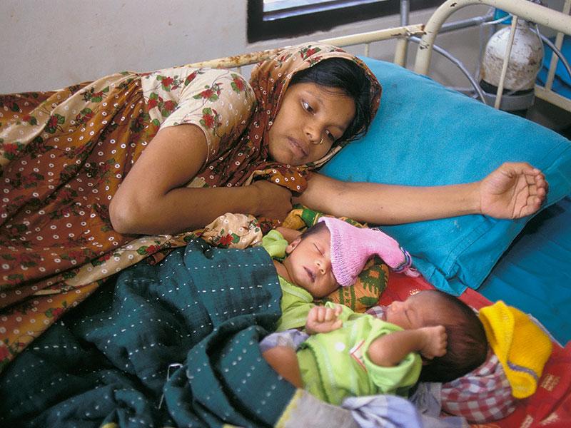 Maternity ward, Gazipur, Bangladesh