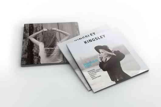 Kingsley Square Portfolio Brochure Template