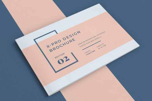 X Pro - InDesign Brochure Template