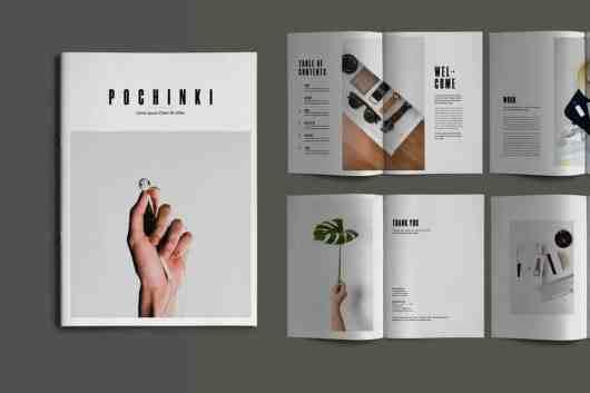 Pochinky - 16-Page Brochure Template