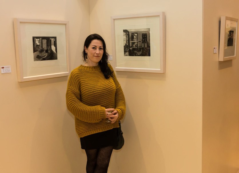 Featured artist exhibition, Bríd Moynahan photo by Jim McSweeney