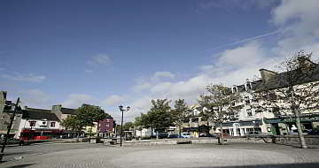 Main Street Ireland County Donegal Town Resized