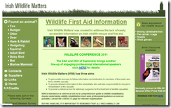 Irish Wildlife Matters: wildlife rescue and first aid in Ireland