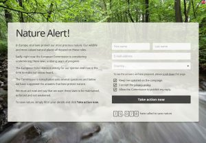 NatureAlert Protect EU Conservation Legislation