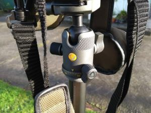 The versatile BH-50 ball head comes bundled with the VEO2 265CB