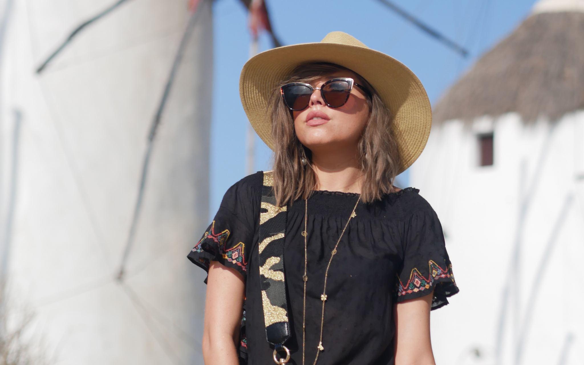 manchester fashion blogger, Mykonos Travel Guide , travel guide, Greece, Mykonos , Fashion, Marc Jacobs bag