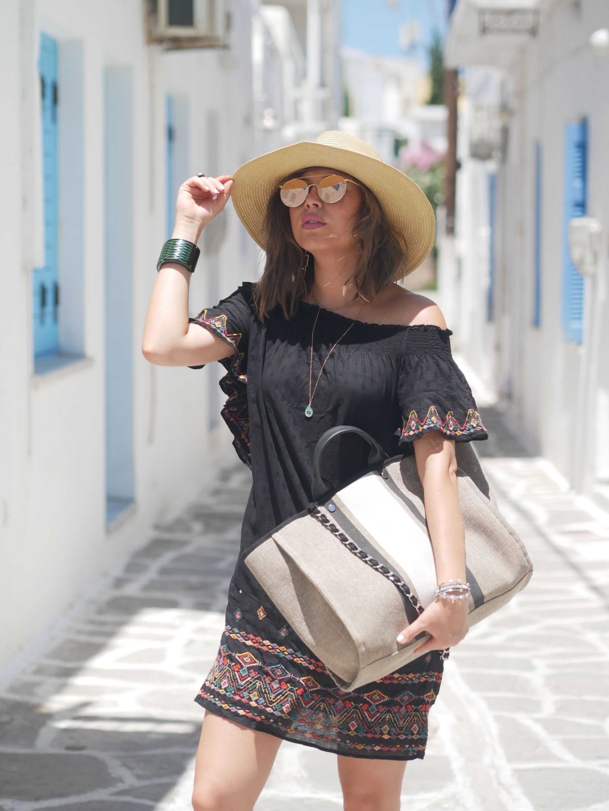 manchester fashion blogger, manchester fashion , Mykonos , Greece , Travel guide to Mykonos, Travel guide