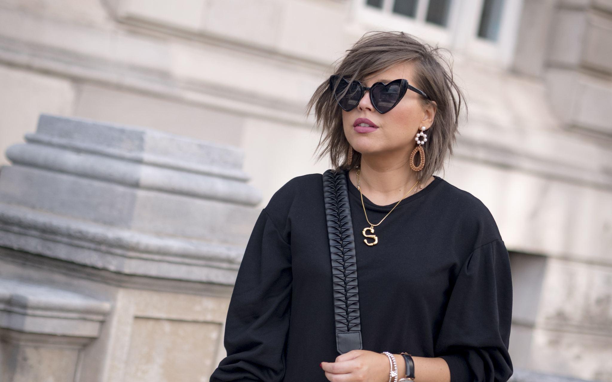 manchester fashion blogger, manchester blogger, Manchester influencer,prada bag, celine sunglasses, celine letter necklace