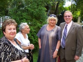 Norm Conard – Child survivor Elzbieta Ficowska and other survivors at the Irena Sendler Awards.