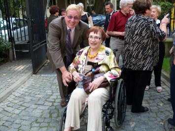 Arrival for the August 2011 Irena Sendler Awards in Warsaw.