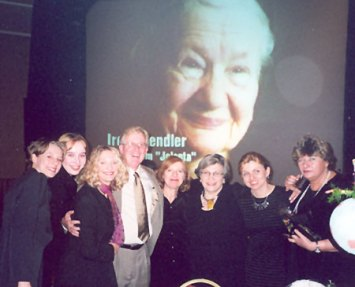 The Tikkun Olam banquet in 2002- honoring Life in a Jar.