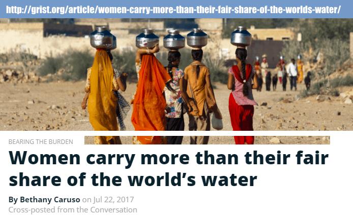 Water world news