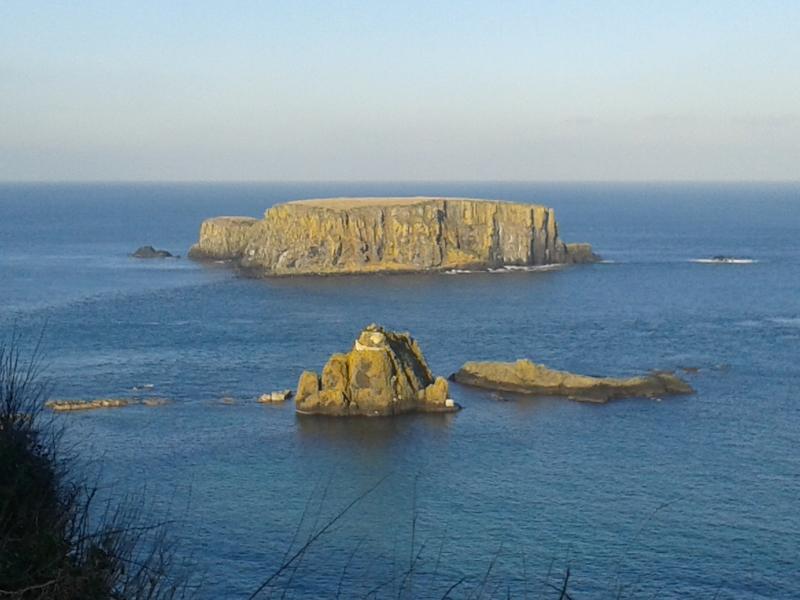 Ocean north of Belfast, en route to Giant's Causeway