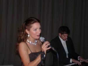 Piano-zang duo Irene de Raadt en Daan van den Hurk, easy listening, huisconcert, huwelijk, trouwen