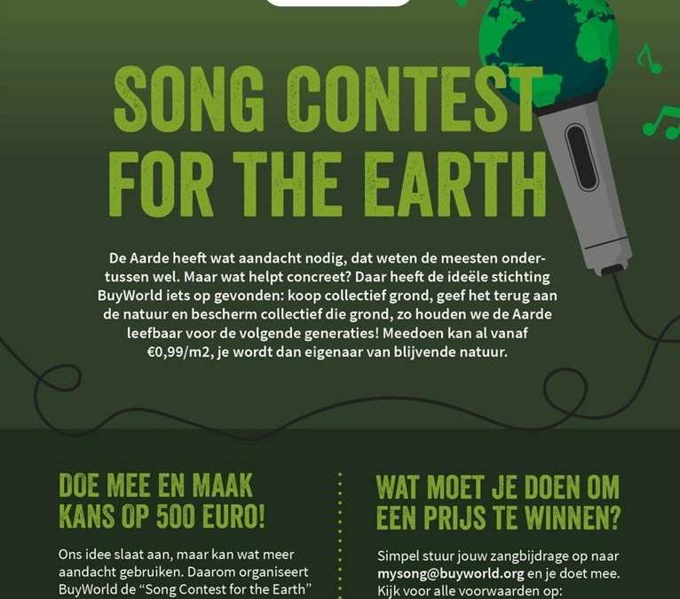 Song Contest for the Earth van Buy World