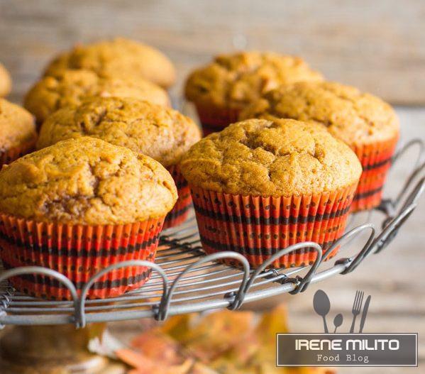 Muffin di zucca e cannella