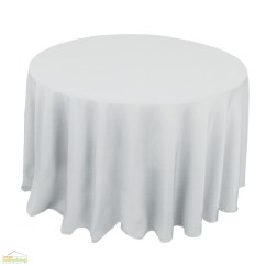 Chair Cover And Tablecloth Rentals Johnston Casuals Chairs Round Linen Polyester - Irent Everything