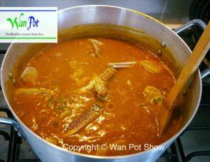 fufu and okra soup113