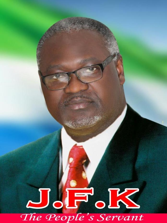 WHO IS HON. CHIEF JOSEPH FITZGERALD KAMARA (JFK)?